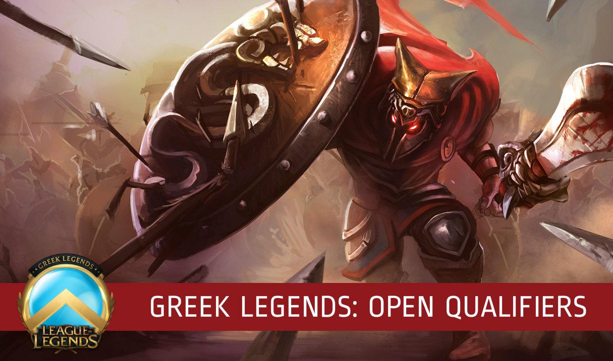 Greek Legends Open Qualifiers 4-5 Μαΐου